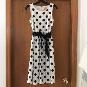 Jcrew Polkadot Dress